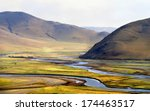 landscape at the valley of ... | Shutterstock . vector #174463517