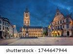 Ghent  Belgium. Sint Baafsplei...