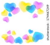 illustration of many cmyk... | Shutterstock .eps vector #174467249