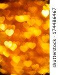 Golden  Heart Shape Holiday...