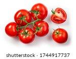 Tomatoes Isolated. Tomato...