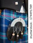 Small photo of Scottish Kilt And Sporran