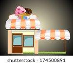candy store | Shutterstock . vector #174500891