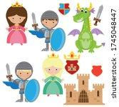 Medieval Knight  Princess And...
