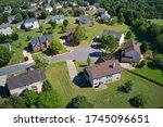 Aerial View Of Sub Division In...