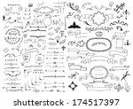 design elements | Shutterstock .eps vector #174517397