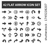 arrow icon set vector design | Shutterstock .eps vector #1745228207