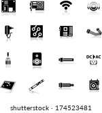 computer and accessories icon... | Shutterstock .eps vector #174523481