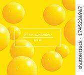beautiful modern color... | Shutterstock .eps vector #1745236967