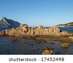empty beach and calm sea in... | Shutterstock . vector #17452498
