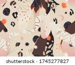 trendy artistic illustration... | Shutterstock .eps vector #1745277827