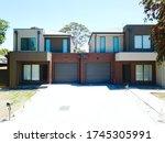 Brick Veneer Town Houses In...
