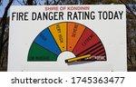Fire Danger Rating Display...