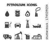 petroleum icons  mono vector... | Shutterstock .eps vector #174539054