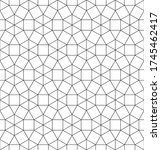 archimedean tiling pattern with ... | Shutterstock .eps vector #1745462417