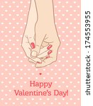 "greeting card ""happy valentine... 