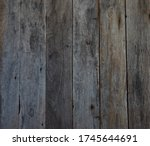 The Old Wood Board Background...