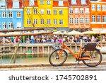 Copenhagen Iconic View. Orange...