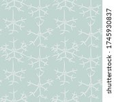seamless pattern with hand... | Shutterstock .eps vector #1745930837