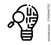 brain savvy research icon... | Shutterstock .eps vector #1745944751