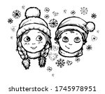 first love vector isolated....   Shutterstock .eps vector #1745978951