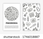 card templates with doodle... | Shutterstock .eps vector #1746018887