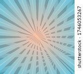 sun with rays star burst... | Shutterstock .eps vector #1746053267
