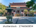 The Po Lin Buddhist Monastery...
