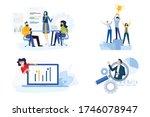 flat design style illustration... | Shutterstock .eps vector #1746078947