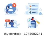 flat design style illustration... | Shutterstock .eps vector #1746082241