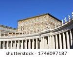 Bernini S Colonnade And...