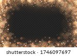 yellow dust yellow sparks and... | Shutterstock .eps vector #1746097697