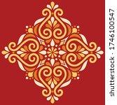 cross doodle sketch color... | Shutterstock .eps vector #1746100547