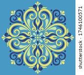 cross doodle sketch color... | Shutterstock .eps vector #1746100571