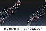 winter vector background with... | Shutterstock .eps vector #1746122087