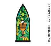 church window vector icon... | Shutterstock .eps vector #1746126134