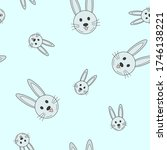 wrapping paper   seamless... | Shutterstock .eps vector #1746138221