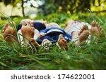 family outdoor | Shutterstock . vector #174622001