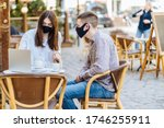 Student Youth Hipster Man And...