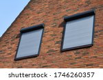 Rolling Shutters Brick House...