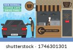 new normal business model after ... | Shutterstock .eps vector #1746301301