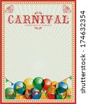 Carnival Background. Colorful...