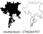semarang city  republic of... | Shutterstock .eps vector #1746364757