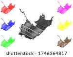 komsomolsk on amur city ... | Shutterstock .eps vector #1746364817