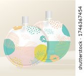 vector round packet with white... | Shutterstock .eps vector #1746367454