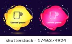 set line coffee cup icon... | Shutterstock .eps vector #1746374924