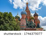 Moscow. Russia. St. Basil\'s...