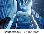 shanghai urban landscape ... | Shutterstock . vector #174647024