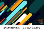 abstractions. modern abstract... | Shutterstock .eps vector #1746488291