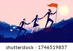 teamwork diversity   a small...   Shutterstock .eps vector #1746519857